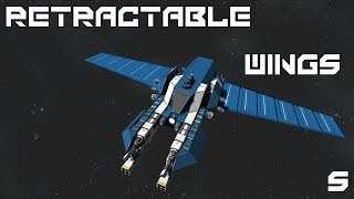 SpaceEngineers Retractable Wings
