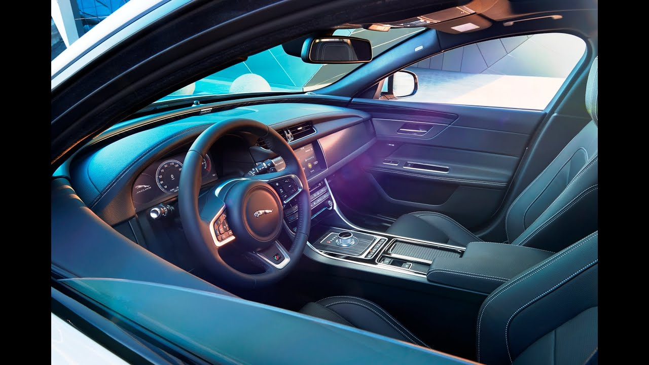2016 Jaguar XF Interior Design Film