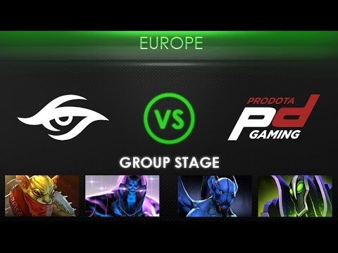 Team Secret vs Prodota Gaming - Kiev Major Europe Qualifier: Group Stage - @BreakyCPK @MerliniDota