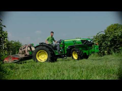John Deere 5G specijalizirani traktori