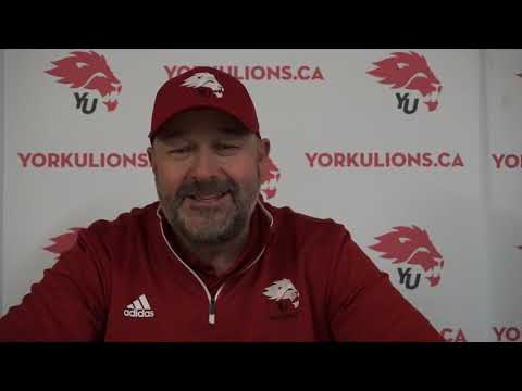 York Lions | Post-Game Interview with Warren Craney - Aug. 2