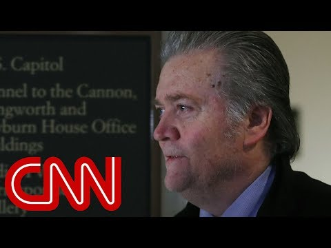 Download Youtube: Axios: Bannon had a 'slip-up' in House hearing