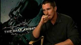 Christian Bale interview for The Dark Knight