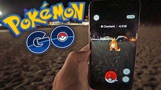 CHARIZARD NOCTURNO! Pokemon GO - [LuzuGames]