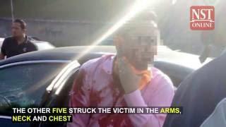 Man shot five times in murder attempt along KL-Seremban highway