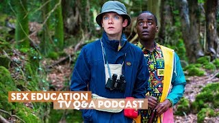 Sex Education | Tν Q&A with Gillian Anderson, Asa Butterfield, Emma Mackey & More! | BAFTA Podcasts
