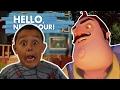 OUR NEIGHBOR WANTS TO KILLS US!!! | HELLO NEIGHBOR Gameplay (Alpha 2 COMPLETE)