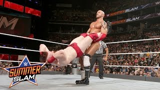 Sheamus vs. Cesaro: Best of Seven Series - Match No. 1: SummerSlam 2016 Kickoff, on WWE Network