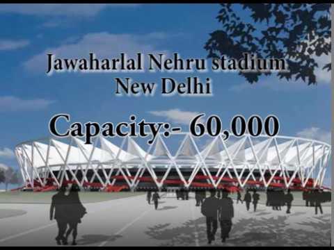 U17 2017 FIFA STADIUM IN INDIA