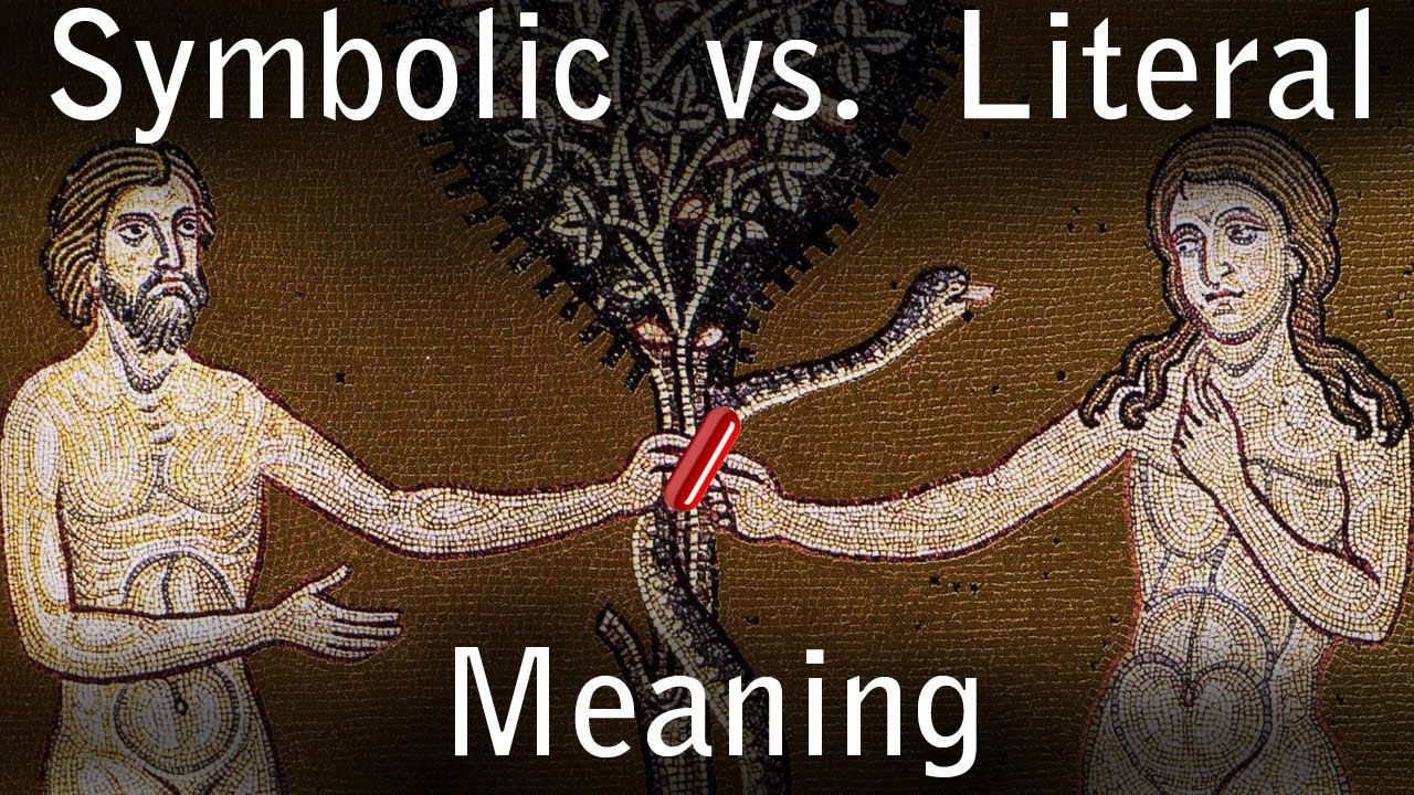 Symbolic vs literal interpretation of the bible youtube symbolic vs literal interpretation of the bible biocorpaavc Choice Image