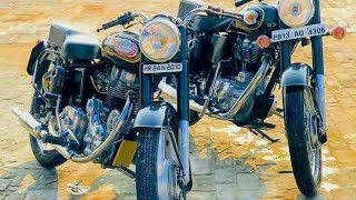 (part 180)Bullet Modified 350 standard and classic!Modified bullet in Punjab !!