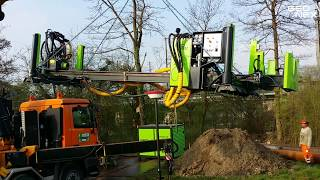 Geonex Demonstration Projects in Central Europe (Horizontal Drilling)