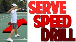 Tennis Serve Speed Lesson: How to Boost Speed | Video 2 (Top Speed Tennis)