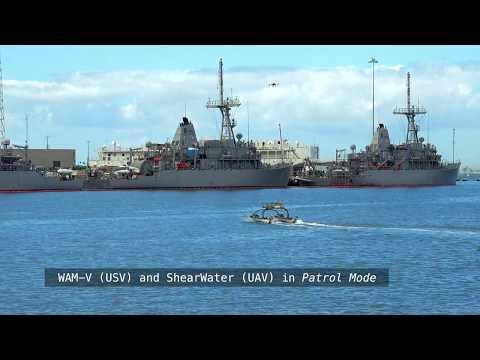 WAM-V Multi-domain (Air, Sea and Subsea) Autonomous Maritime System