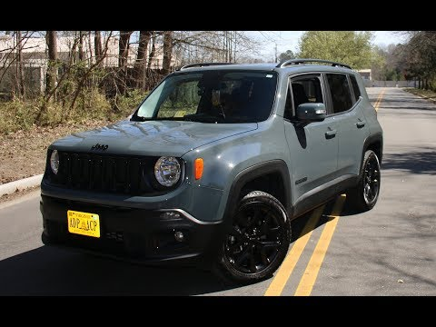 2017 JEEP RENEGADE ALTITUDE REVIEW LIMITED EDITION*