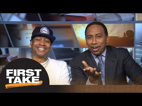 Allen Iverson discusses new book with Stephen A Smith  First Take  ESPN