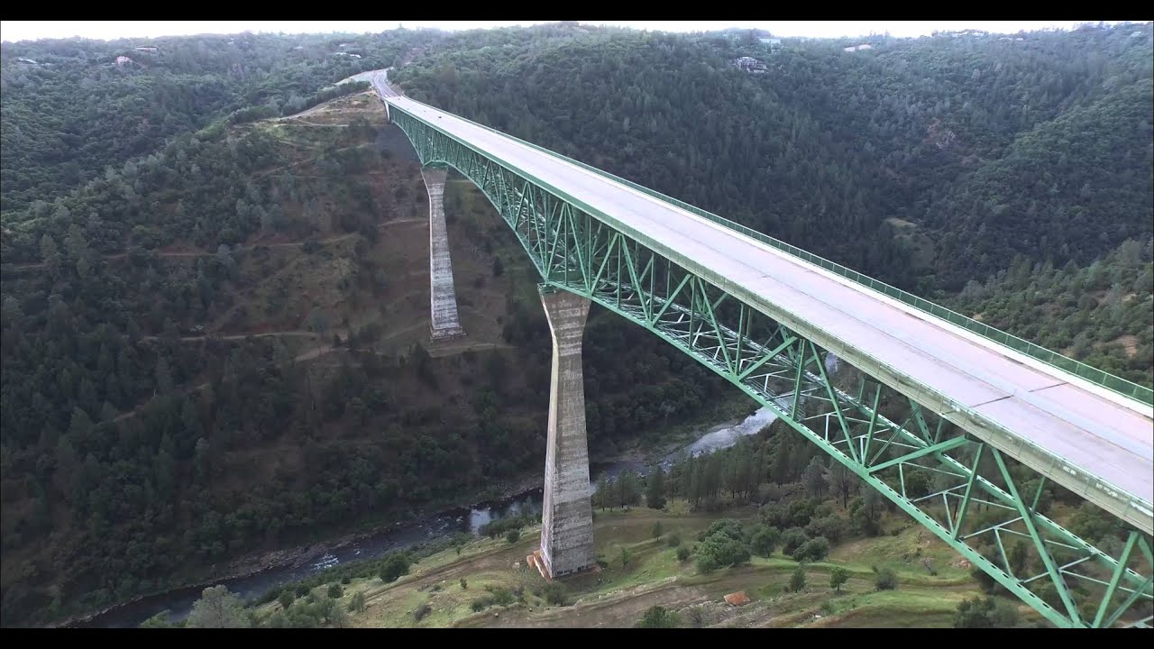 Phantom 3 Professional - Foresthill Bridge