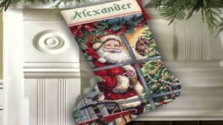 Cross Stitch Christmas Stocking Pattern