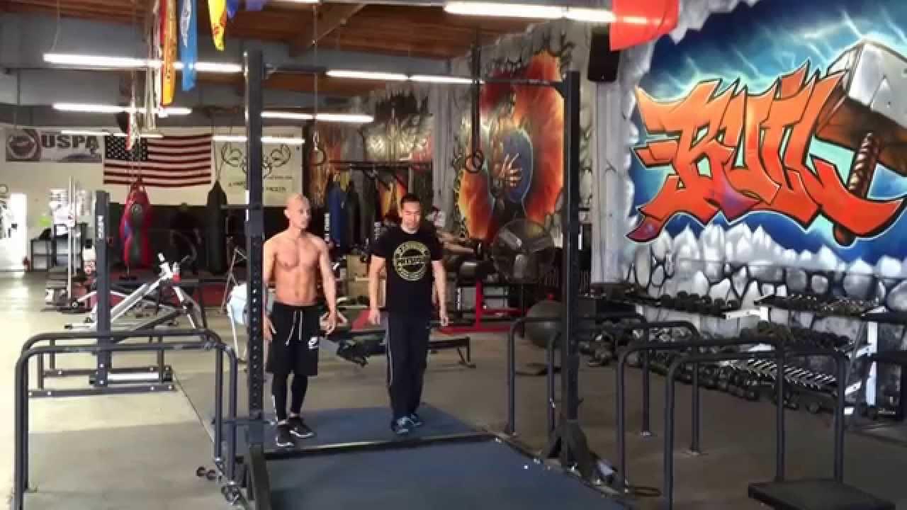 Frank Medrano Tandem Muscle Ups Metroflex Gym Long Beach