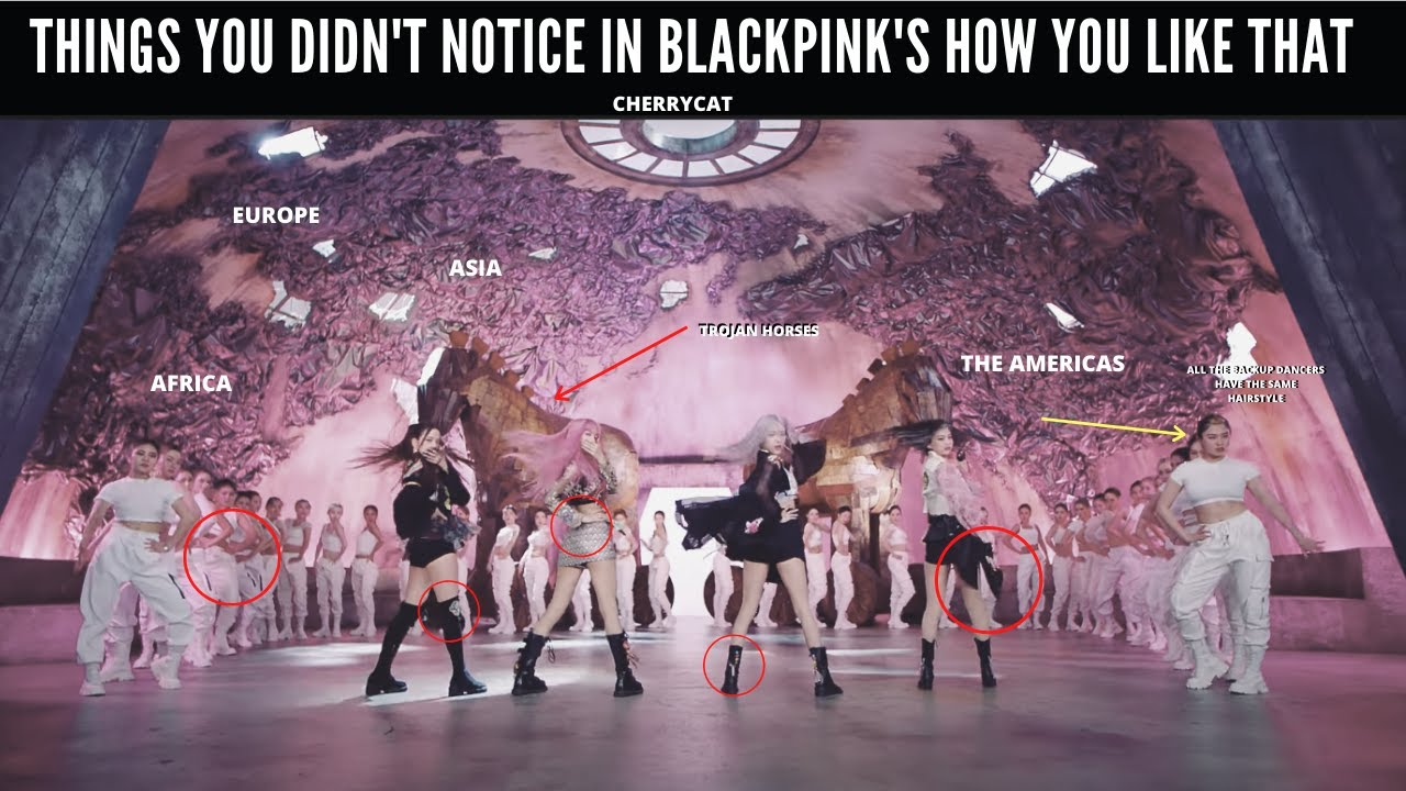 Things you didn't notice in BLACKPINK's How You Like That MV (GIVEAWAY)