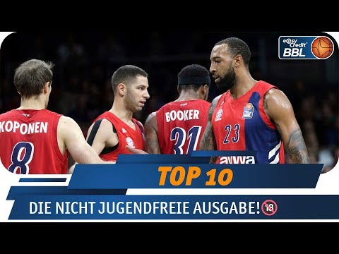 Highlights ab 18 Jahren! | Telekom Sport Top 10 | easyCredit Basketball Bundesliga