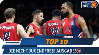 Highlights ab 18 Jahren! | Telekom Sport Top 10 | easyCredit Basketball Bundesliga