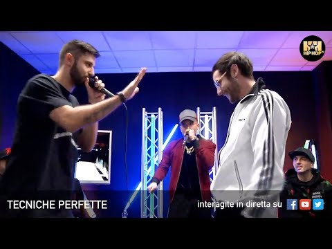 TECNICHE PERFETTE 🎤 CON DJ DOUBLE S 👊🏻 MASTAFIVE 📲 RISE 🔊 WAD