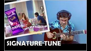 Cadbury Dairy Milk Silk song on Guitar by Kapil Srivastava, Tabs, Lesson, Kiss Miss me, Tutorial