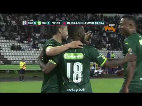 Once Caldas 0-2 La Equidad. Fecha 16 Liga Aguila II-2016-Win Sports
