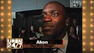 Akon on top of his game  URBN247