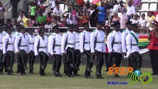 March Pass: Independence Day of Dominica 2014: National Day Parade