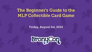 The Beginner's Guide to the MLP Collectible Card Game