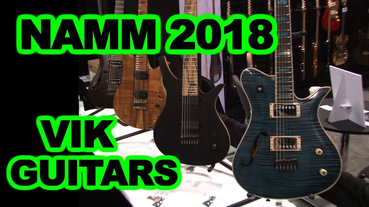 vik guitars namm 2018 interview and guitar tour with next level guitar 39 s nathalie g youtube. Black Bedroom Furniture Sets. Home Design Ideas