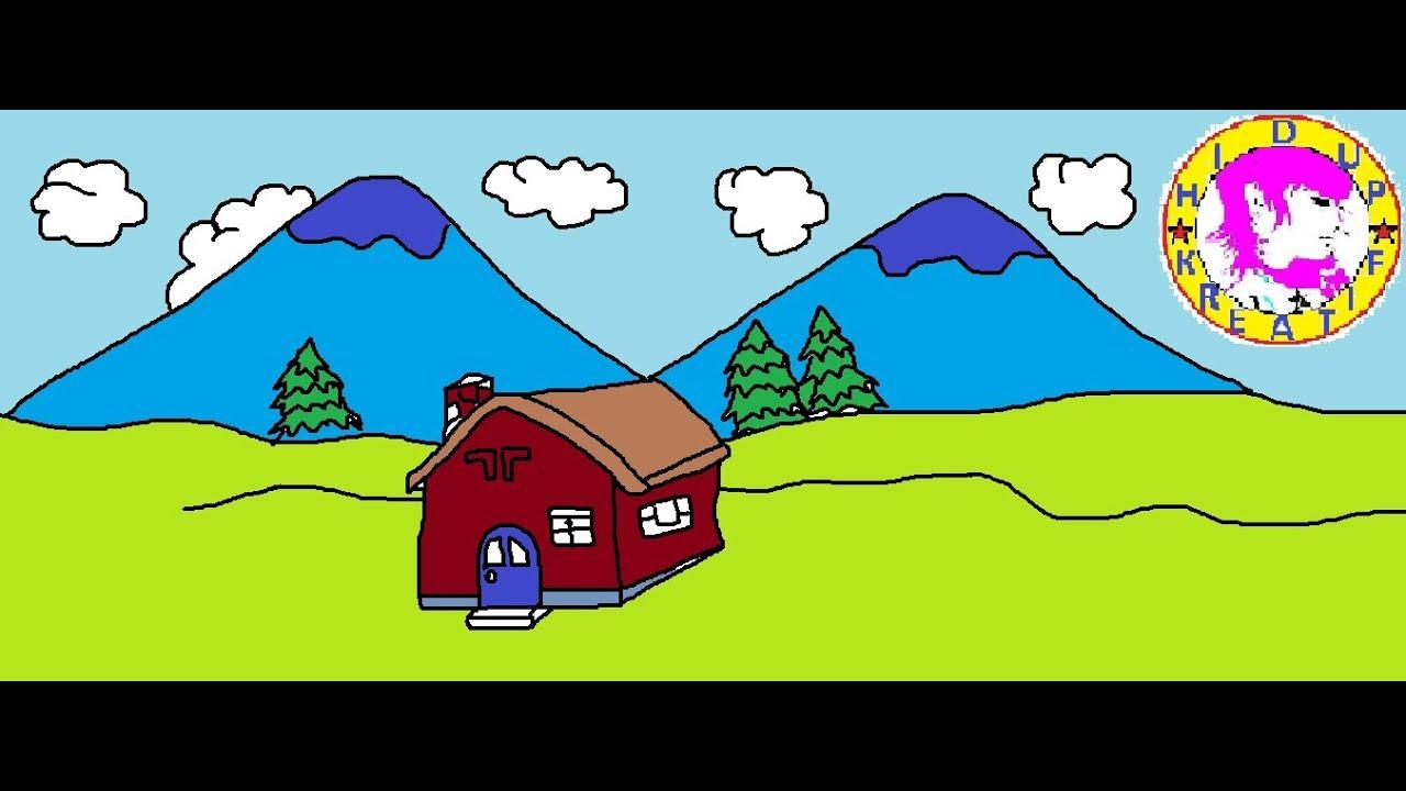 930 Gambar Rumah Mudah Untuk Anak Tk Terbaik Gambar
