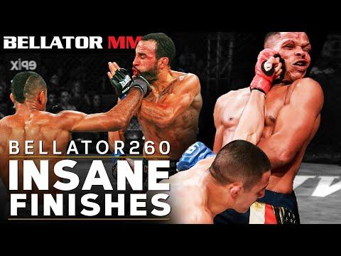 Most SHOCKING MMA Finishes l BELLATOR MMA