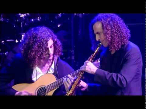 Kenny G With His Son Max G