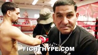 "ANGEL GARCIA WARNS ERROL SPENCE ""AIN'T GETTIN UP"" FROM DANNY'S POWER; INSISTS HAD ""TOUGHER"" FIGHTS"