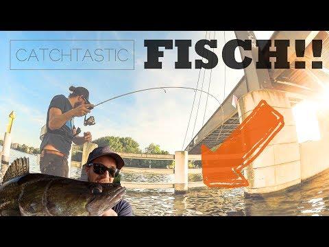 Streetfishing in Berlin angeln auf Barsch vom Boot  - Ultraleicht Zander fischen zum Feierabend