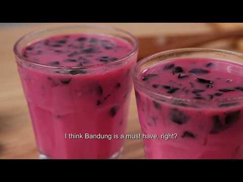 Healthy Recipes: Ramadan Quick-Prep Drink Recipe - Bandung Fizz Fusion