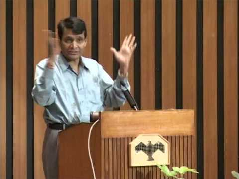 The challenge of climate change by Suresh Prabhu