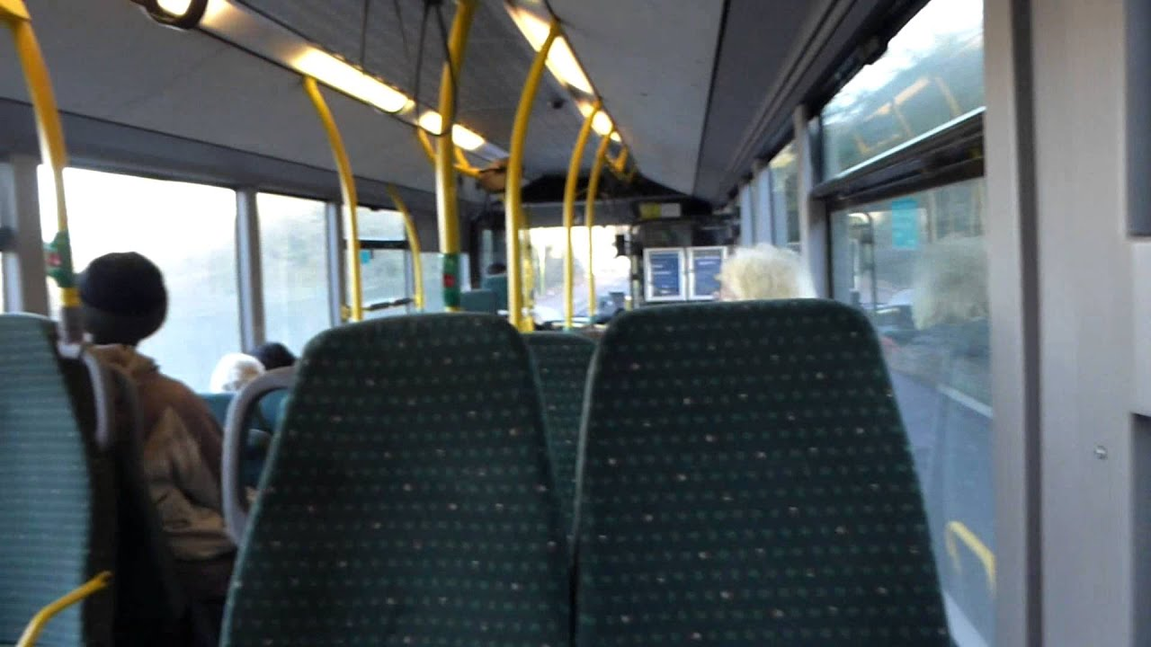 Inside a Route 724 Green Line Bus Near Hertford 2 January ...