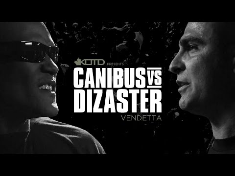 KOTD - Rap Battle - Canibus vs Dizaster - *Co-Hosted by DJ Skee* | #Vendetta