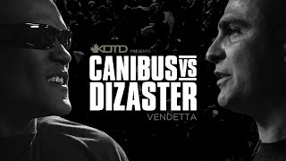 One of King Of The Dot Entertainment's most viewed videos: KOTD - Rap Battle - Canibus vs Dizaster - *Co-Hosted by DJ Skee* | #Vendetta