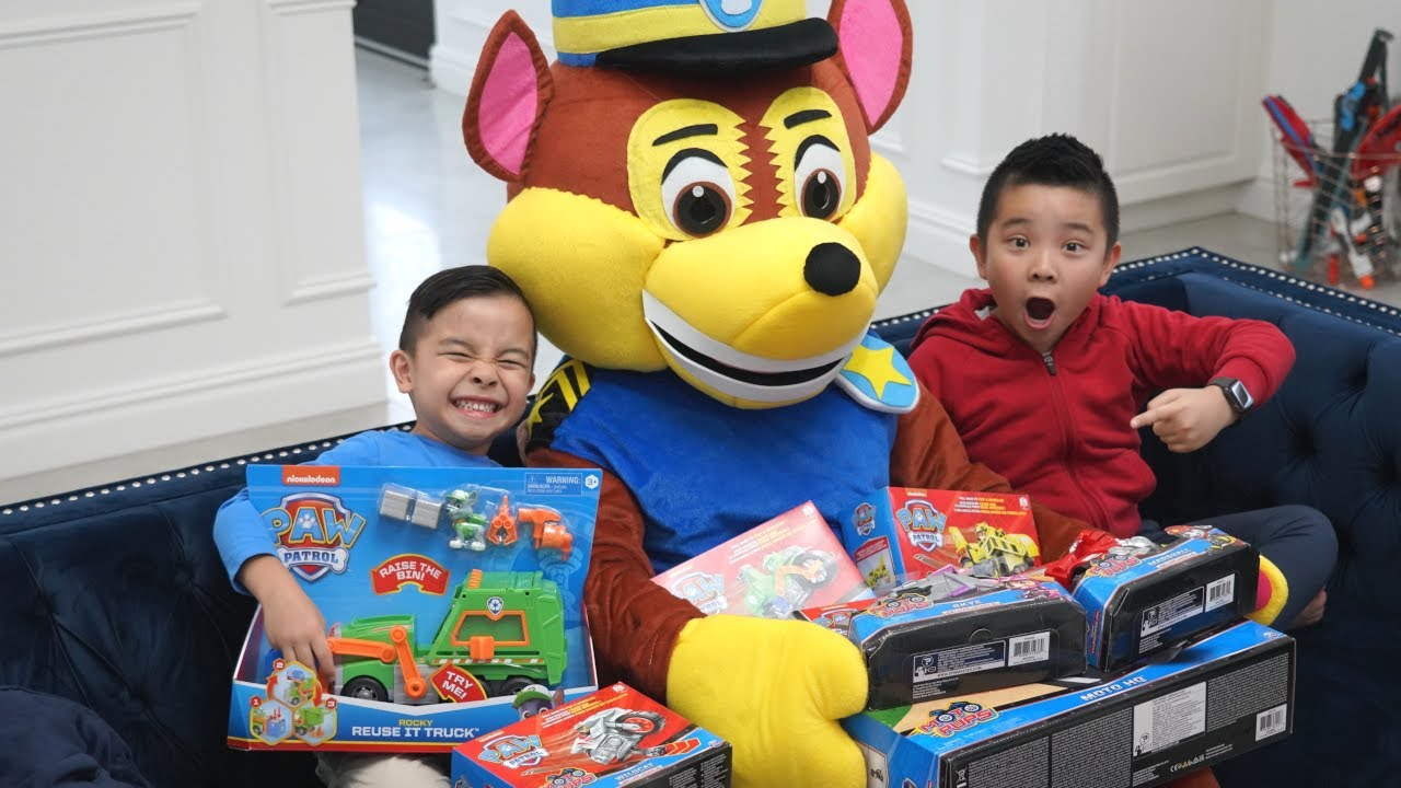 Download Chase Big PAW Patrol Surprise For Kaison! CKN