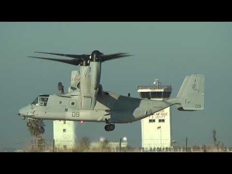 【オスプレイが来た日】 MV-22  / Japan Air Self-Defense Force NYUTABARU AIR BASE AIR FESTA