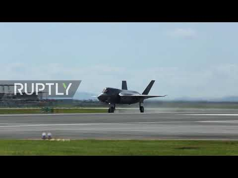 Japan: US and South Korea military jets fly over Korean peninsula in display of force