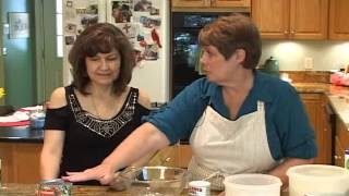 Pure Gold - Cooking With Cindy - Rhubarb Pie And Peaches & Cream Pie