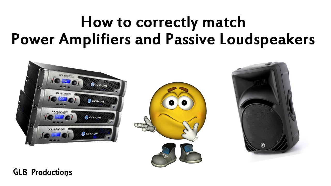 How to connect the speakers correctly