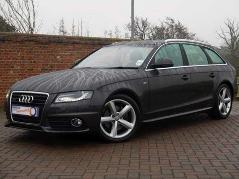 2008 audi a4 avant s line 3 0 v6 tdi quattro grey for sale in hampshire youtube. Black Bedroom Furniture Sets. Home Design Ideas