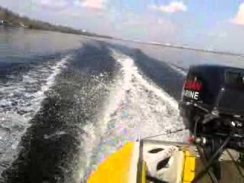 Лодочный мотор NISSAN MARINE 18 и казанка м под дистанцией